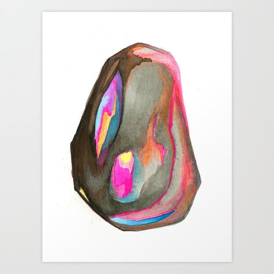 L'il Rock Art Print