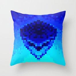 Mask of urban Throw Pillow