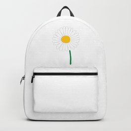 Daisy Illustration Backpack