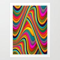 acid Art Prints featuring Acid by Danny Ivan