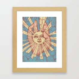 Dumb Sun Framed Art Print