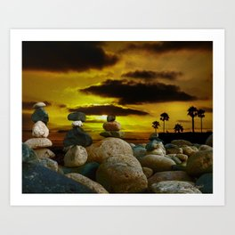 Memories in the Twilight Art Print