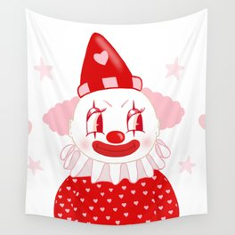 Poopywise the Clown Wall Tapestry