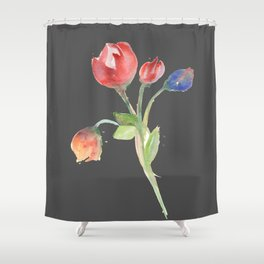 tulips (version #2) Shower Curtain