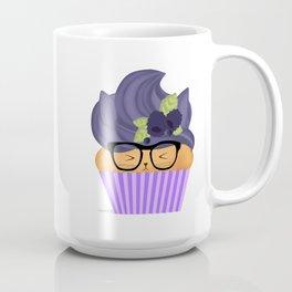 Blueberry Cuppycat Coffee Mug