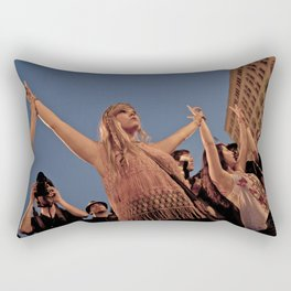 Peaceful Protest Rectangular Pillow