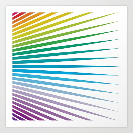 Shapes #32 Art Print