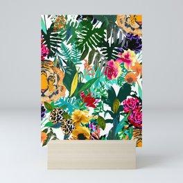 Fancy tiger Mini Art Print