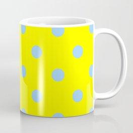 yellow-polka-dots Coffee Mug