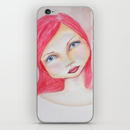 Bella SASS Girl - Rose - SASS = Strong and Super Smart iPhone Skin