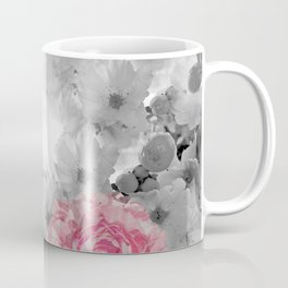 ROSES PINK WITH CHERRY BLOSSOMS Coffee Mug