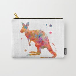 Colorful Kangaroo Carry-All Pouch