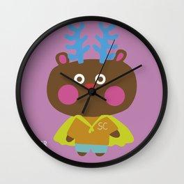 """""""Super Ciervo"""" Wall Clock"""