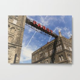 Past Pabst Metal Print