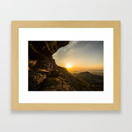 Eternal sigh Framed Art Print