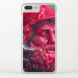 Candy dude (red) Clear iPhone Case