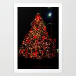 Christmas In Calabash Art Print