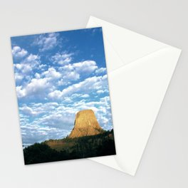 Devils Tower, WY Stationery Cards