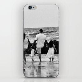 Kicking Waves iPhone Skin