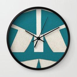 Lucha Libre Mask 5 Wall Clock