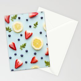 Strawberry Lemonade Stationery Cards