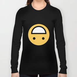 Smiley Face   Upside Down Happy Laughing Smileys Long Sleeve T-shirt
