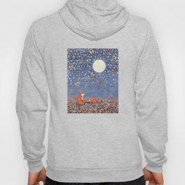 moonlit foxes Hoody