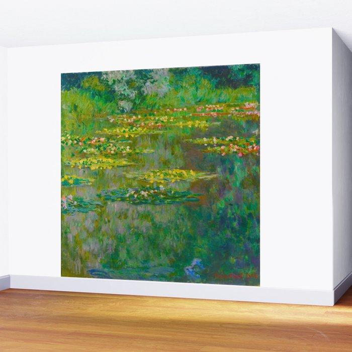 Claude Monet Impressionist Landscape Oil Painting Le Bassin Des Nympheas Wall Mural