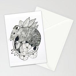 autumn rat Stationery Cards