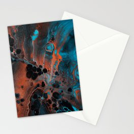 Copper Ocean Stationery Cards