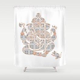 Zen Strength III Shower Curtain