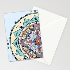 Time and Light Native Shapes Mandala Stationery Cards