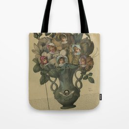 Crooked Bouquet Tote Bag