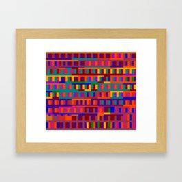 Beethoven Moonlight Sonata (Jewel Tones) Framed Art Print
