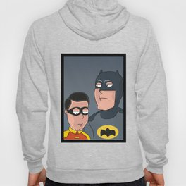 Caped Crusader and the Boy Blunder..... Hoody