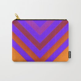 Sunset Chevron Carry-All Pouch