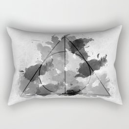The Gifts Black and White Version Rectangular Pillow