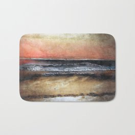 Midnight Sands Gloucester Abstract Ocean Bath Mat
