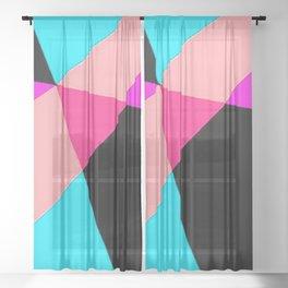 Geometry 242 Sheer Curtain