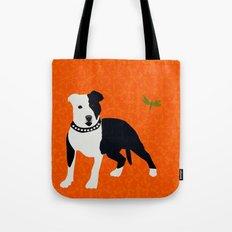 Staffordshire Bull Terrier Tote Bag