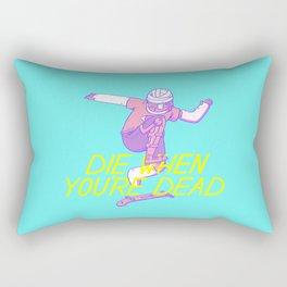 Die Later Rectangular Pillow