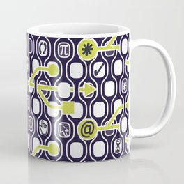 geek spirit (Acid green) Coffee Mug