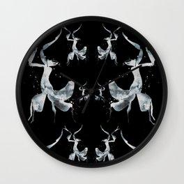 Onyx Mantis Wall Clock