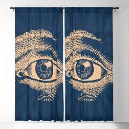 Pop Art Retro Eye Pattern Blackout Curtain