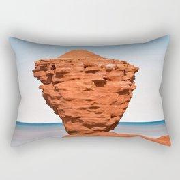 Teapot Rock Rectangular Pillow