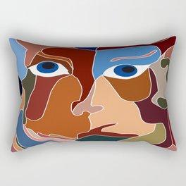 Abstract God Rectangular Pillow
