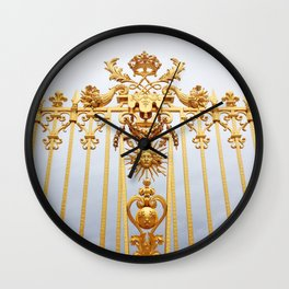 Gates of Versailles  Wall Clock