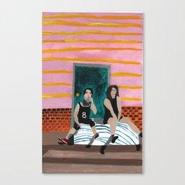 porch bed~ Canvas Print