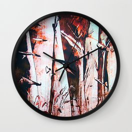 PineForest Wall Clock