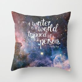 Victor Hugo Writer Quote Throw Pillow